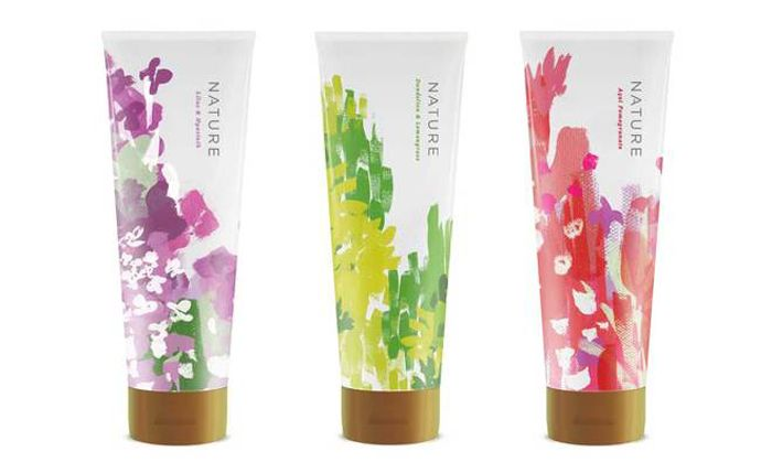 Nature cosmetics #packaging #design