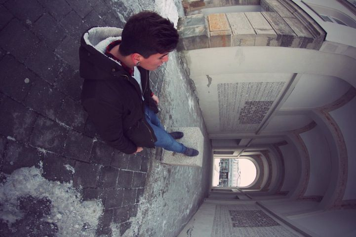 Sitting on the Edge of the World - My Modern Metropolis