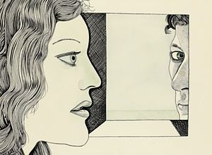 'Hallucinogenic' Lucian Freud drawing on sale after being off radar since 1948 | Art and design | The Guardian