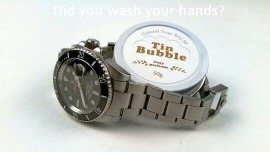 Tin Bubble Natural Soap BALM
