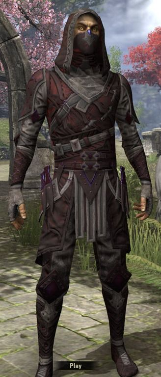 Assassin's League Rubedo - Male Front