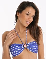 Watercult Indigo Girl Bandeau Top - Indigo Have fun frolicking in the waves in the Watercult Indigo Girl Bandeau Top with its cool blue and white print with a shell pink embellishment in the bust centre http://www.MightGet.com/january-2017-13/watercult-indigo-girl-bandeau-top--indigo.asp