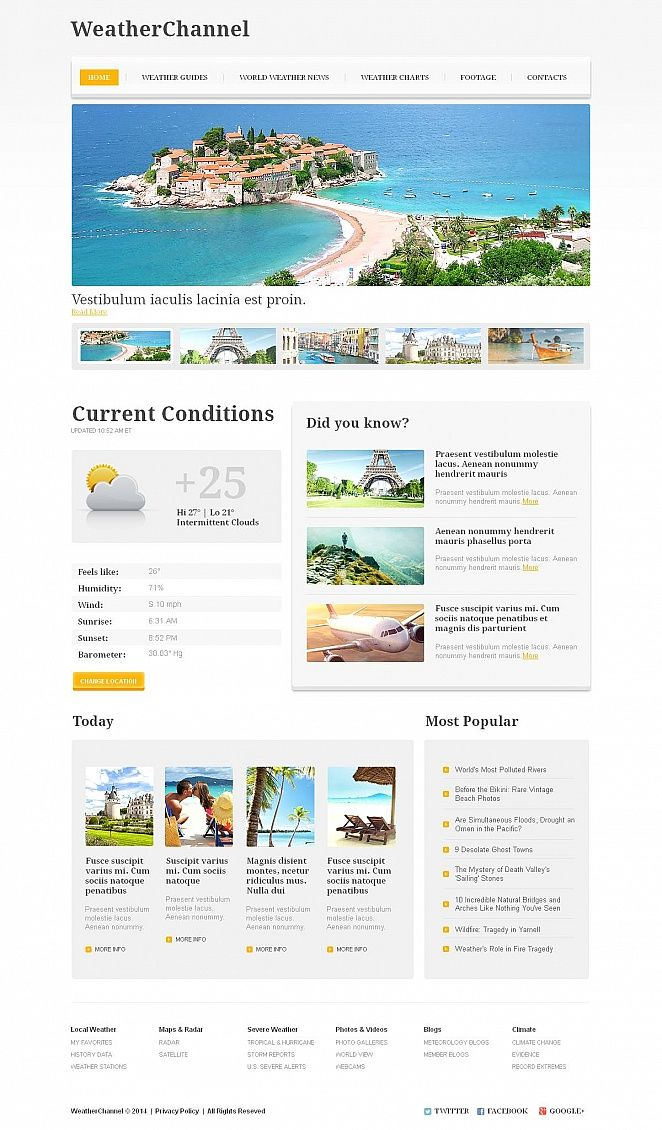 Tv Channel Moto Cms Html Template Design Saves Pinterest Templates And Web