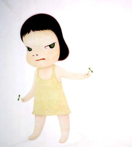 by Yoshitomo Nara: by Yoshitomo Nara
