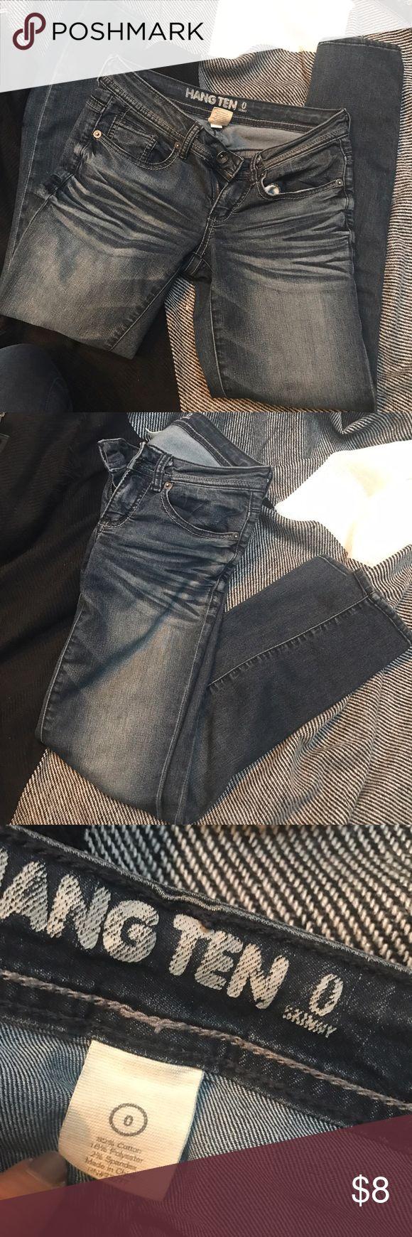 Hang Ten Skinny Jeans Size 0 Hang Ten Jeans Skinny