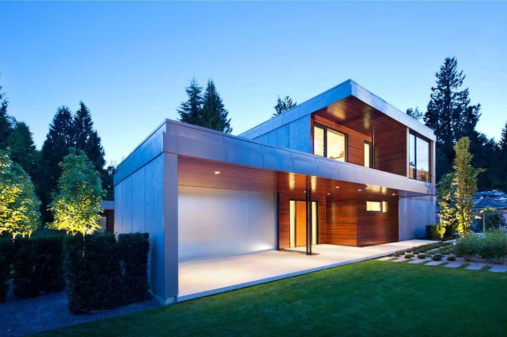 Jolie maison contemporaine en h l 39 ouest de vancouver au canada h shaped contemporary home for Maison moderne canada