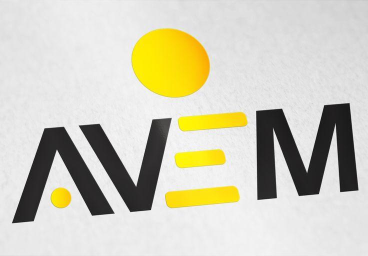 İnşaat, elektrik, mühendislik ve petrol sektörlerinde faaliyet gösteren Avem firmasının logo tasarımıdır.