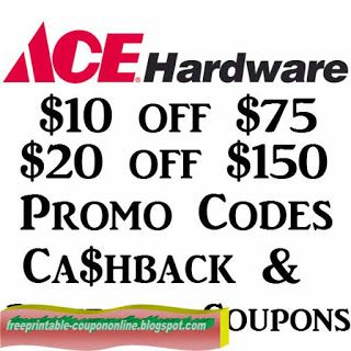 Free Printable Ace Hardware Coupons Ace Hardware Hardware Coupons