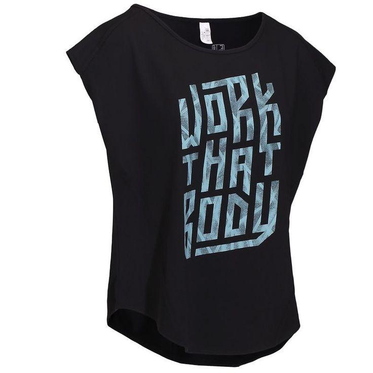 9,99€ - FITNESS Fitness - T-shirt ample ENERGY fitness - DOMYOS