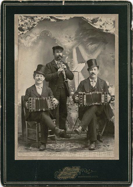 Musical Trio. Ironwood, Michigan. by depthandtime, via Flickr