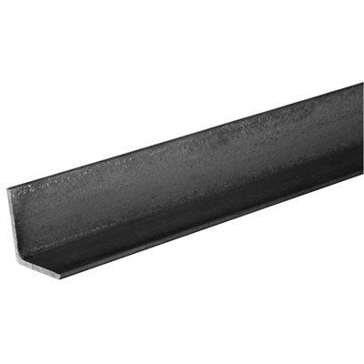 The Hillman Group Hot-Rolled Weldable Steel Solid Angle Bar