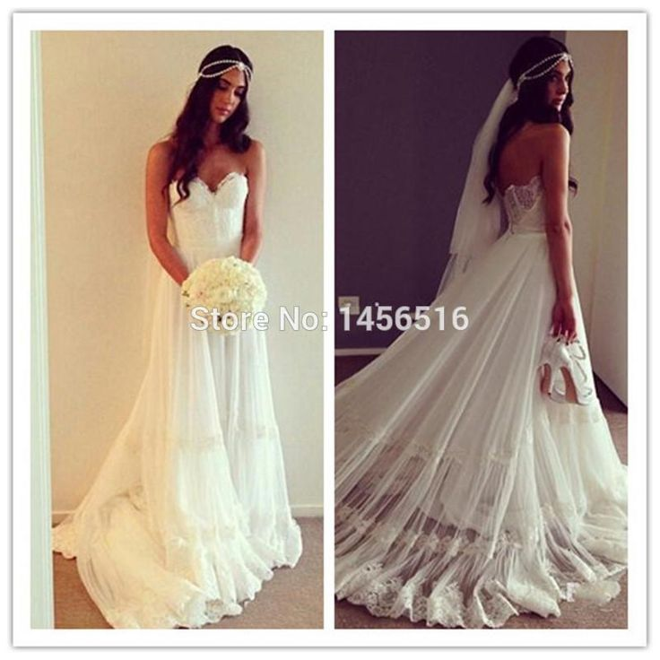 17 best images about katie dresses on pinterest hippie for Backless wedding dresses online