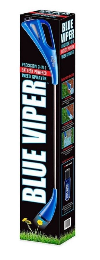 BLUE VIPER PRECISION 3-IN-1 Battery Powered WEED SPRAYER (FREE Bottle Dye) NEW #BlueViper