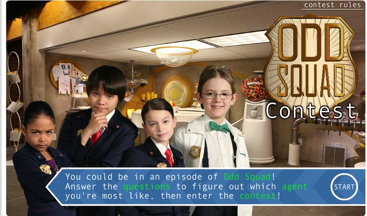 Odd News | TVO Is Holding an Odd Squad Contest