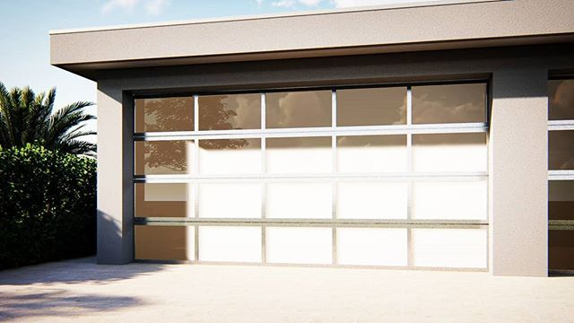 Revit Garage Door Sectional With Anodised Frame Visit Www Archify