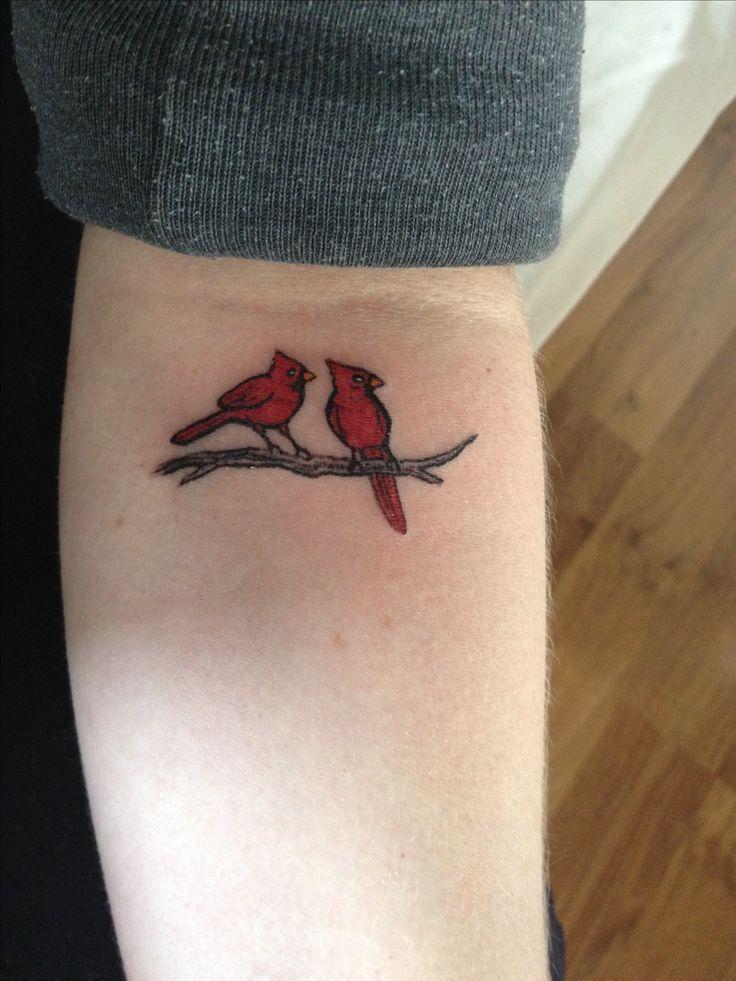 Cardinal Outline Tattoo Cardinal tattoo :)