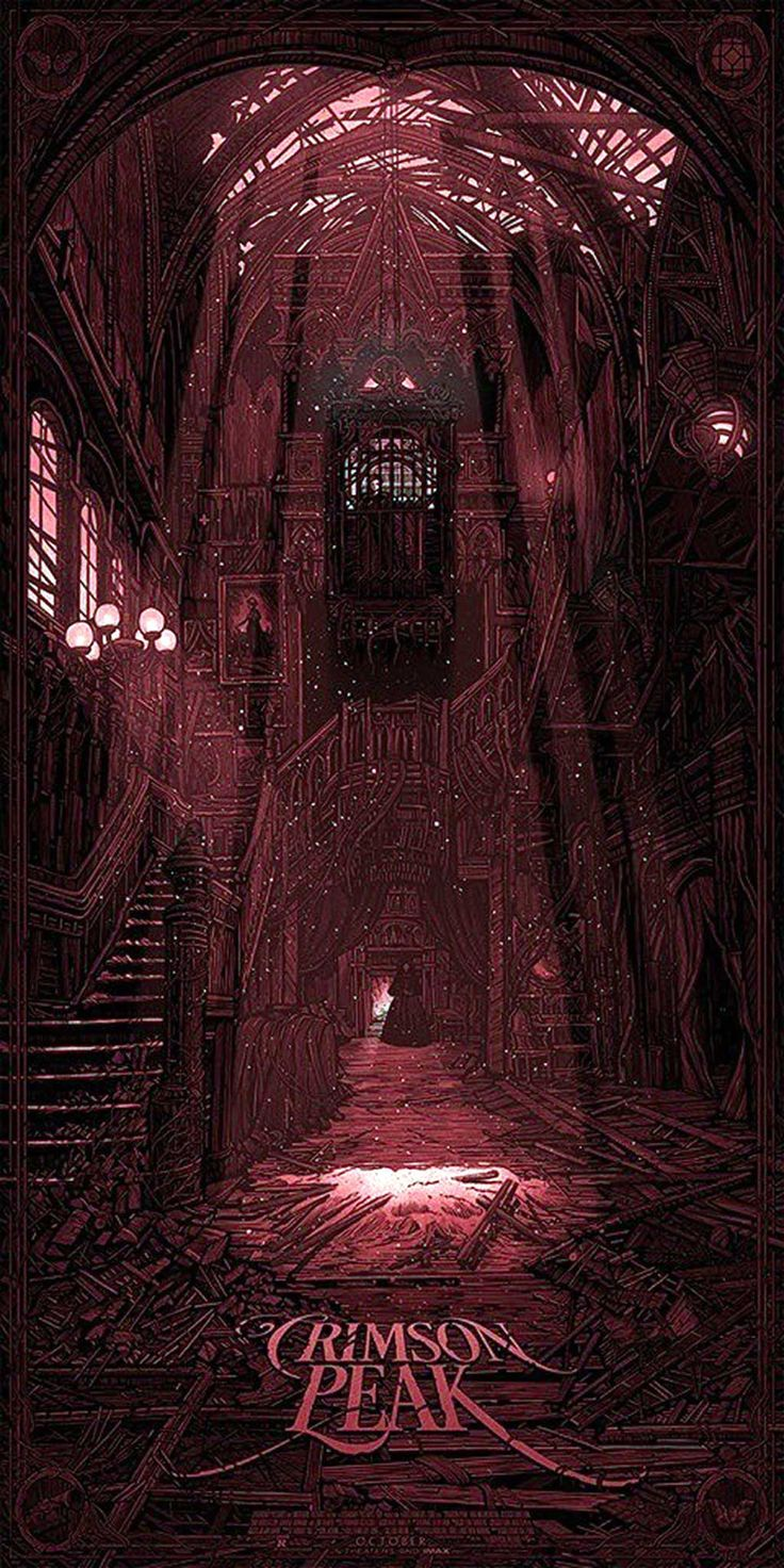 Crimson Peak | Crimson Peak - Red Poster