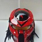 Alien Predator Helmet Street Fighter-Handmade