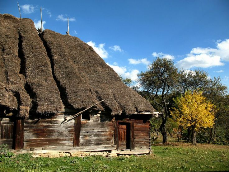 Maramures traditional house.