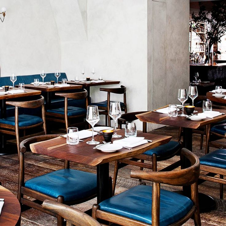 From NYC to Hong Kong, these stunning restaurants make us want to move in.