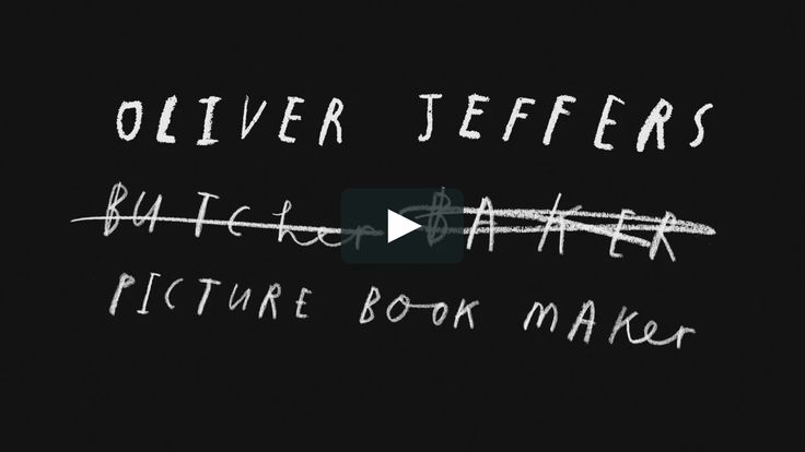 Oliver Jeffers Author Video 2013 A film by Mac Premo oliverjeffers.com oliverjeffersworld.com