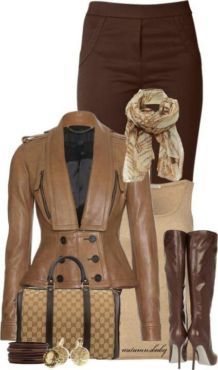 Stunning jacket and sophisticated color pairing