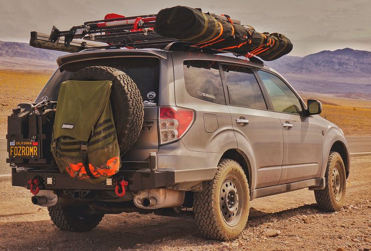 Subaru Forester rear/front bumper build (pics) | American Adventurist