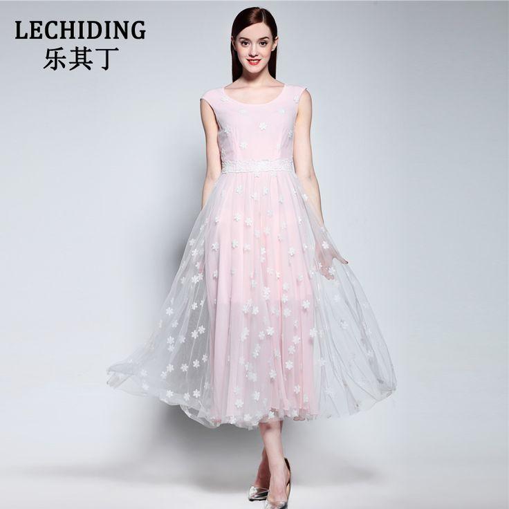 LECHIDING 2017 New Summer Dress Women Maxi Boho Dresses Voile Embroidery Vestidos White Long Robe Femme Plus Size Beach Dress #Affiliate