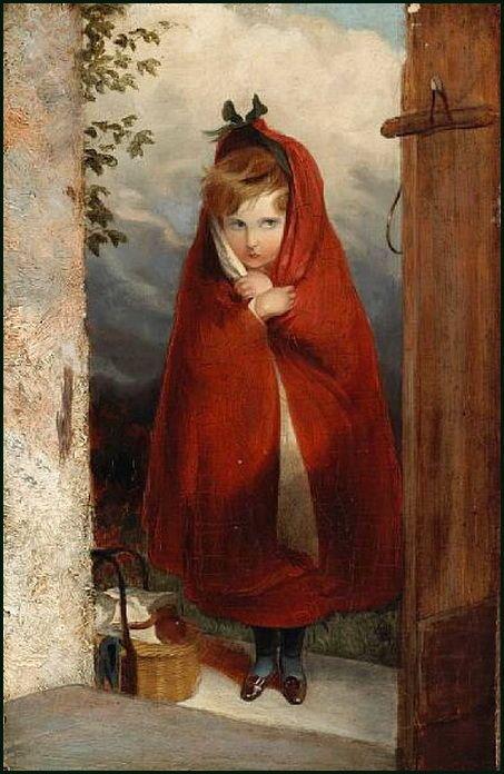 Sir Edwin Landseer, Little Red Riding Hood