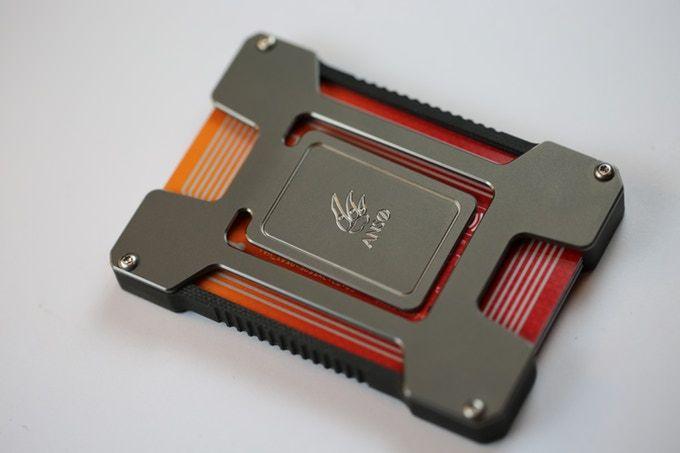 Matrix – Titanium and Carbon Fiber Credit Card Holder. by Jens Anso — Kickstar…