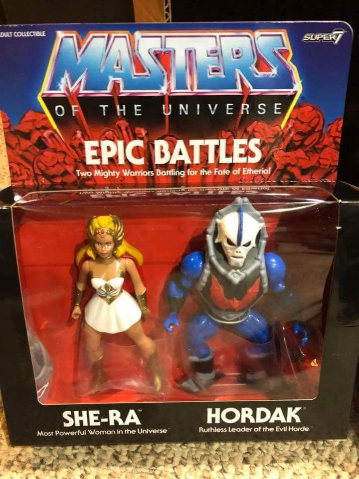 Masters of the Universe He-Man Super 7 Retro Cartoon Figures Heroic 4-Pack