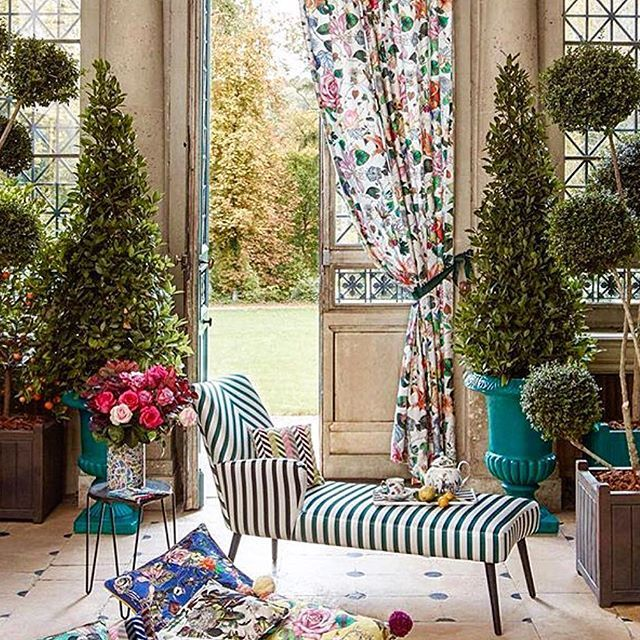 #primavera #interior #furnishings #incroyable & #merveilleuse #collection #from #christian #lacroix #home #patio #outdoors #furniture #design #designer #indoor #colorful #fabric #couture #spring #summer #textiles #2016 #showroom #160 #pears #avenue #toronto #ontario #canada