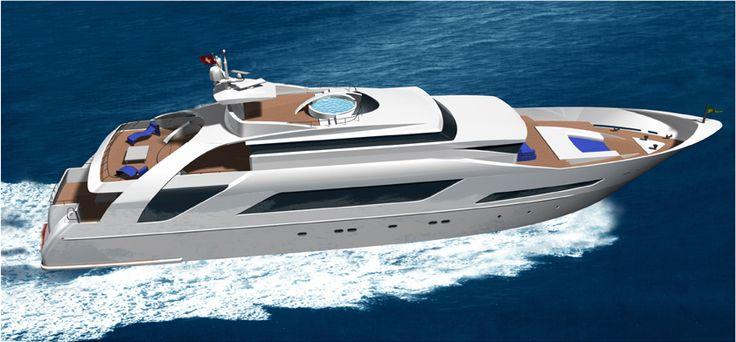 35 m Yacth design