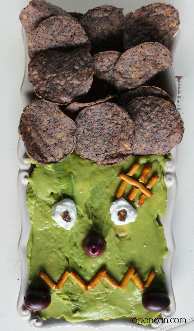 This is the perfect Halloween appetizer for all of your parties! Husband and toddler approved!