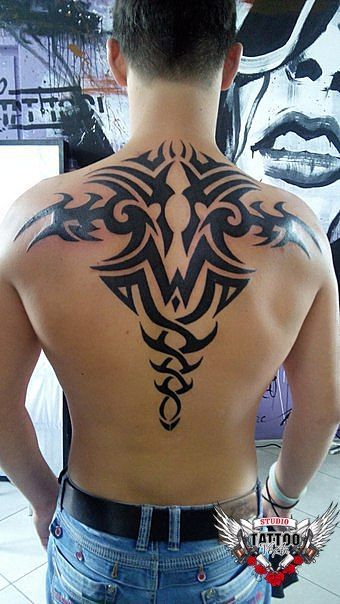 Fototattoo Yuri Yareshko – Tattoo Muster auf dem Rücken –   – Tattoo pin