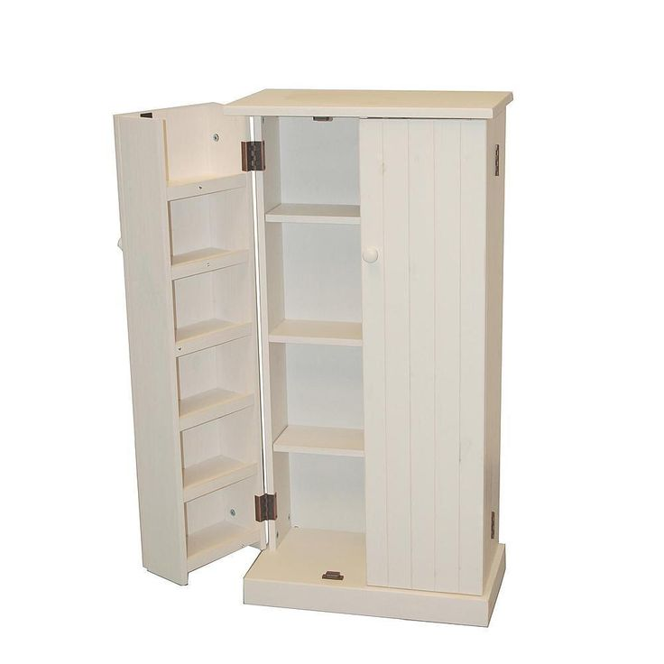 Kitchen Storage Pantry Organizer Shelves Solid Pine Wood Furniture Food Can  Good