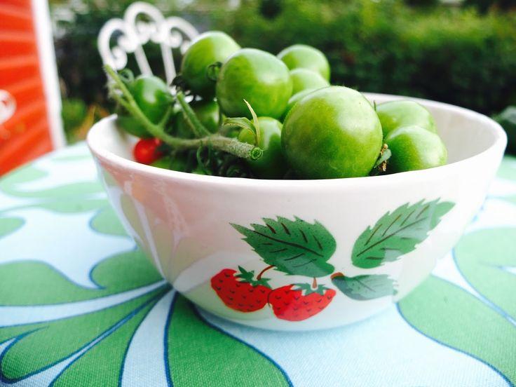 Mansikkatalossa: Vihreät tomaatit -säilyke