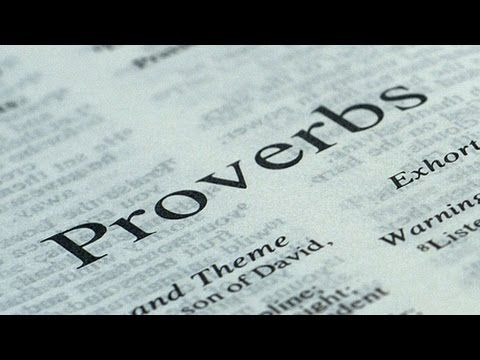 Proverbs in audio with chapters from the KJV of the bible. - YouTube