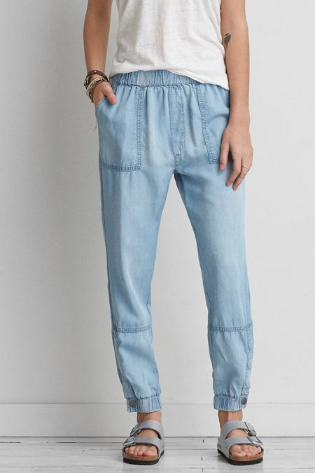 American Eagle Outfitters AEO Indigo Soft Jogger (Jogging Pants)