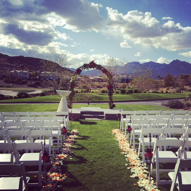 Red Rock Country Club See More Amazing Sky And Wedding Ceremony Site