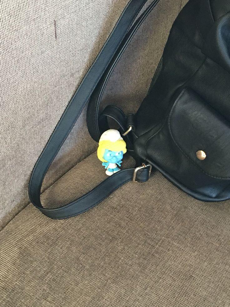 Bag at the ready