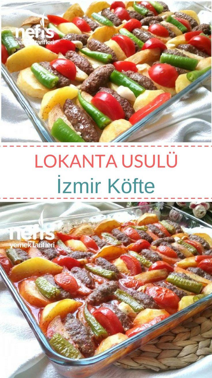Lokanta Usulü İzmir Köfte Tarifi nasıl yapılır? #izmirköfte #köfte #nefisyemektarifleri