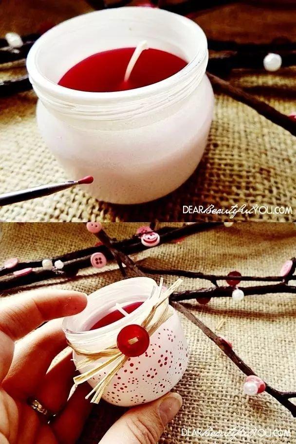 23 Wahnsinnig coole Dinge, die man mit Gläsern für Babynahrung machen kann   – recycled jars/tubs