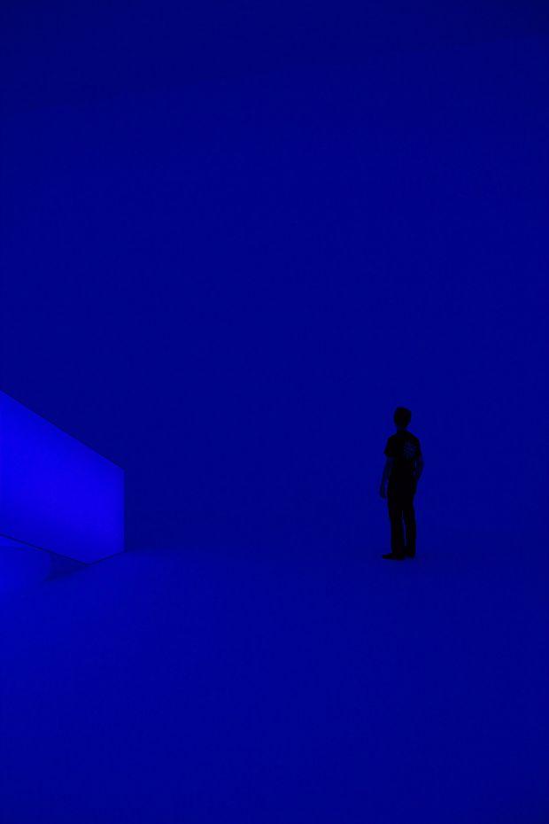 James Turrell's light installation.