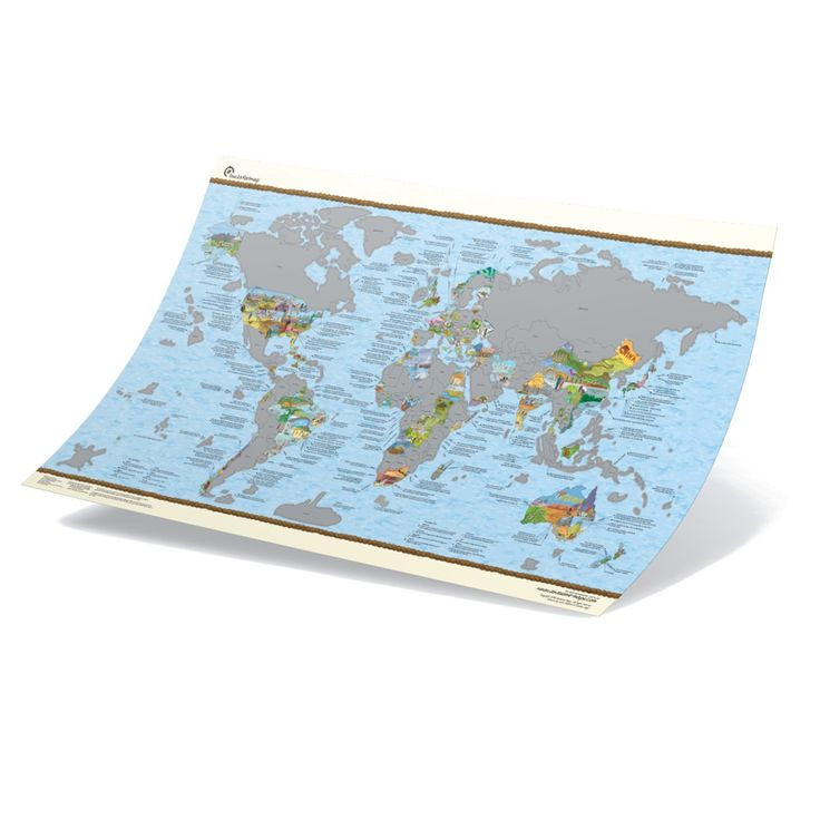 Ob als Bucketlist aller der Länder, die man noch bereisen will oder als grandiose Dekorationsergänzung für die gesammelten Stempel im Reisepass: Diese tolle Weltkarte zum Freirubbeln richtet sich ganz nach den Reiseerfahrungen und –wünschen Ihres oder Ihrer Beschenkten. Eine coole Idee für befreundete Weltenbummler!