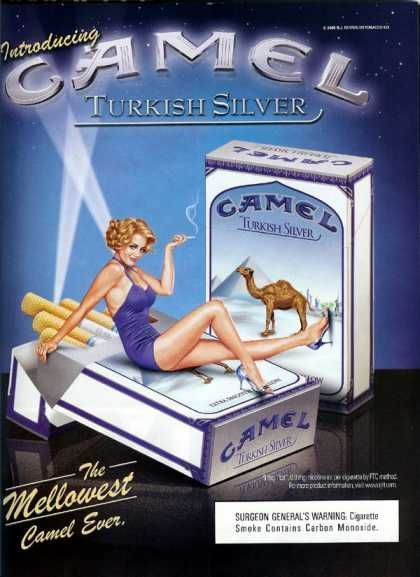 Camel Turkish Silver The Mellowest Camel Ever– (2000)