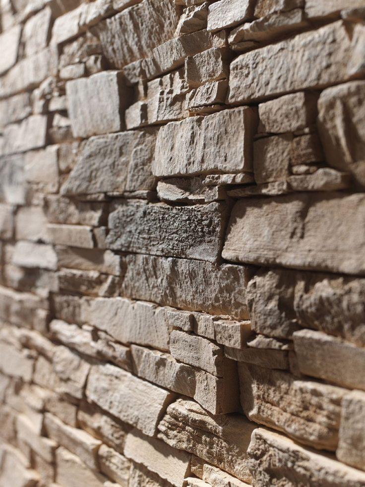 Paneles decorativos imitacion piedra pizarra andes - Imitacion piedra exterior ...