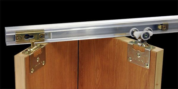 Johnson Hardware® 100FS Side Mounted Bi-Folding Door Hardware
