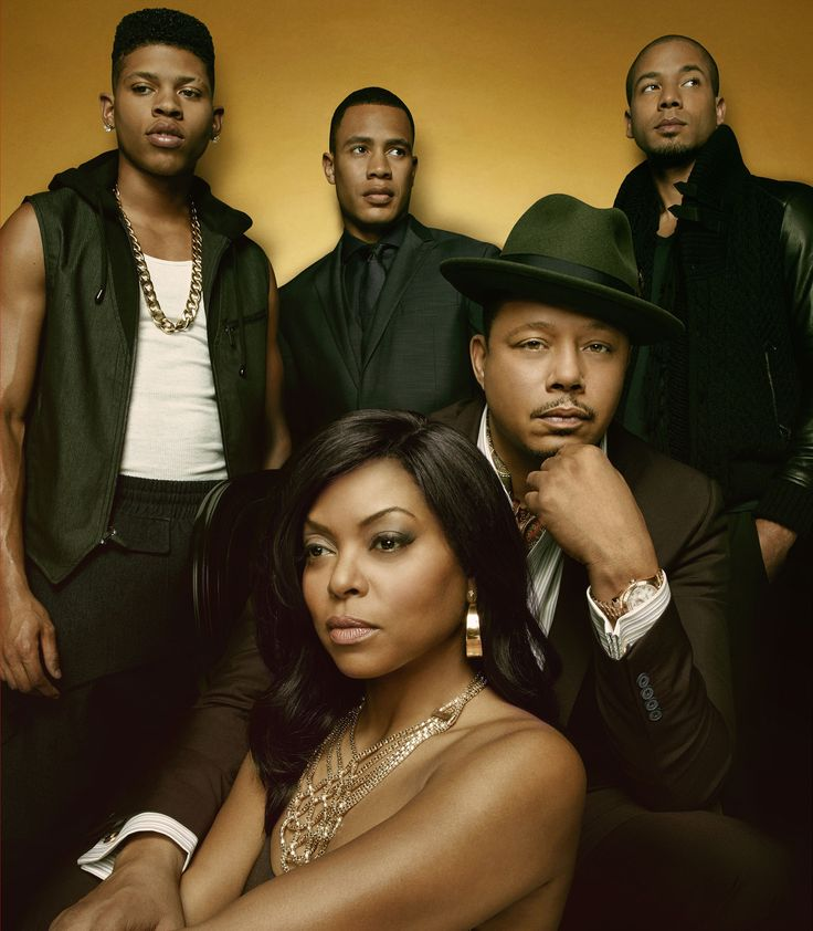 The drama Empire features Terrence Howard as a ruthless music mogul building a worldwide company. ❤
