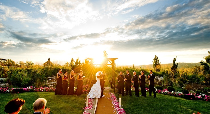 Don't overlook your garden as a possible wedding venue